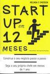 capa do Start up em 12 meses