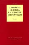 capa do O teorema de Gödel e a hipótese do contínuo