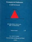 capa do Perspectivas de ensino das ciências