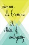 capa do The ethics of ambiguity : pour une morale de l'ambiguïté