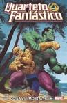 capa do Quarteto fantástico : coisa vs Imortal Hulk