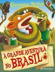 capa do A grande aventura no Brasil