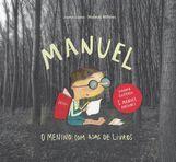 capa do Manuel, o menino com asas de livros