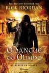 capa do O sangue do Olimpo
