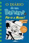 capa do O diário de um banana : põe-te a milhas