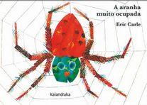 capa do A aranha muito ocupada