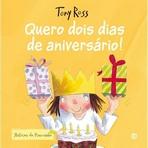 capa do Quero dois dias de aniversário!