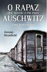 capa do O rapaz que seguiu o pai para Auschwitz
