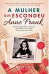 capa do A mulher que escondeu Anne Frank