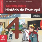 capa do História de Portugal : audiolivro : 4o ano ensino básico